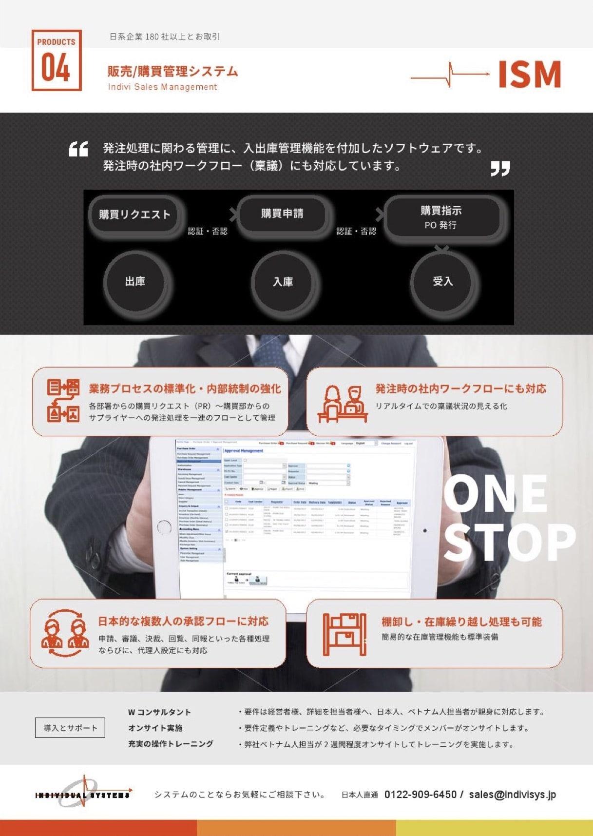 販売・購買管理(ワークフロー)システム